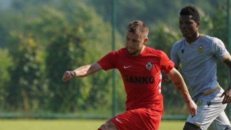Gaziantep FK'nın tek golünü kim attı?