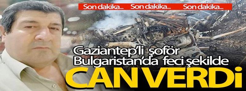 Gaziantep'li şoförün acı sonu! Köprüden aşağı düştü
