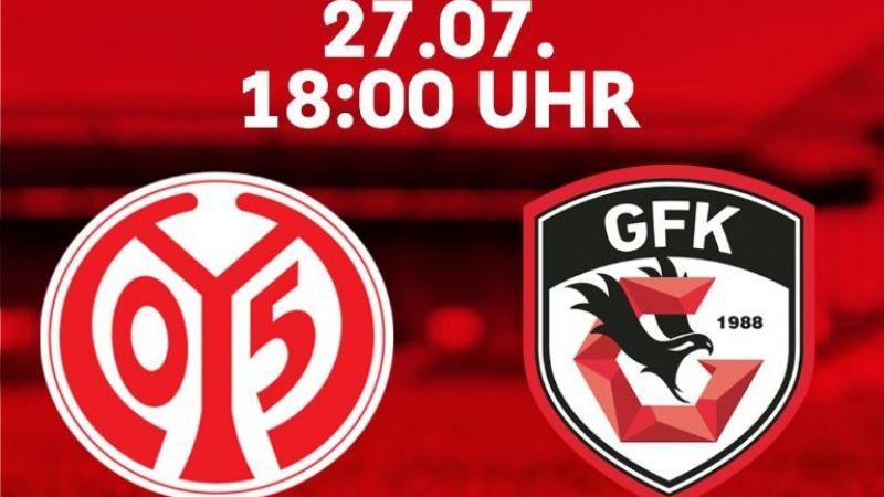 Gaziantep FK, Mainz 05 ile karşılaşacak
