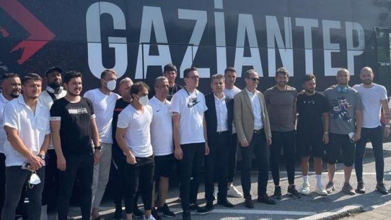 Gaziantep FK Avusturya'ya ulaştı