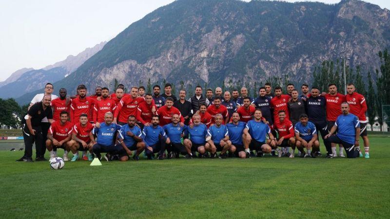 Gaziantep FK'nın Avusturya kampı başladı