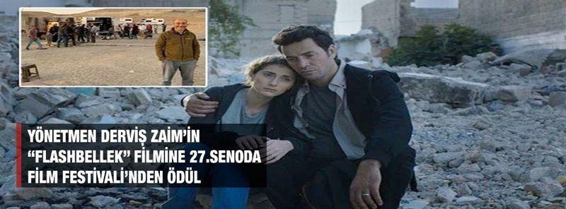 """Yönetmen Derviş Zaim'in """"Flashbellek"""" filmine 27.Senoda Film Festivali'nden ödül"""