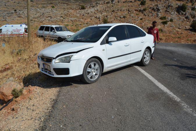 Gaziantep'te trafik kazası: 1 yaralı