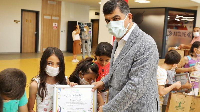 Başkan Fadıloğlu,Bilim Şehitkamil'deki öğrencilerle buluştu
