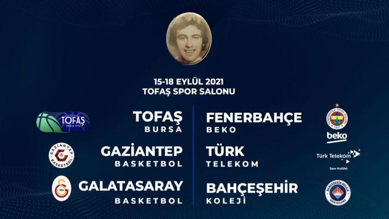 Gaziantep Basketbol Cevat Soydaş turnuvasına katılacak