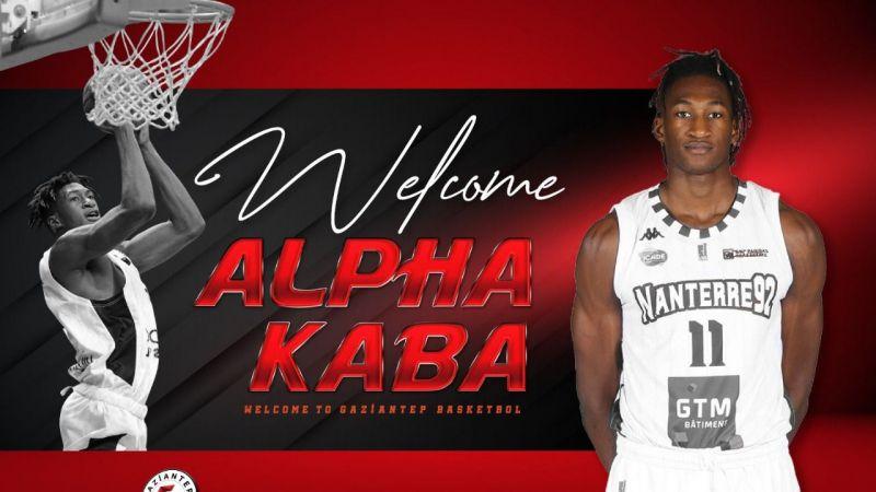 Alpha Kaba Gaziantep Basket'te