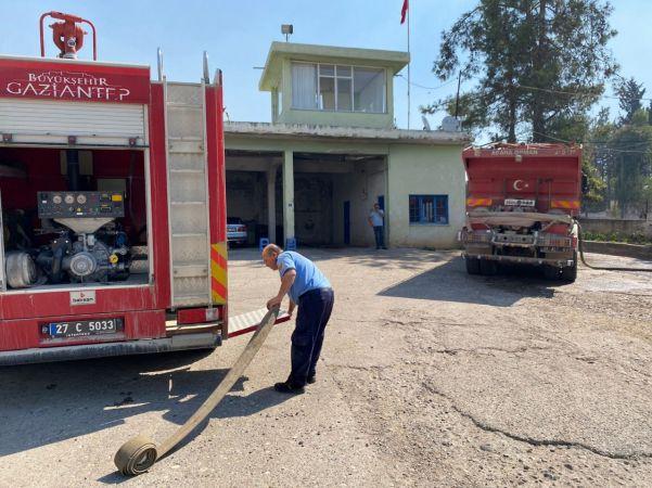Osmaniye'deki Orman yangınına Gaziantep'ten destek gönderildi