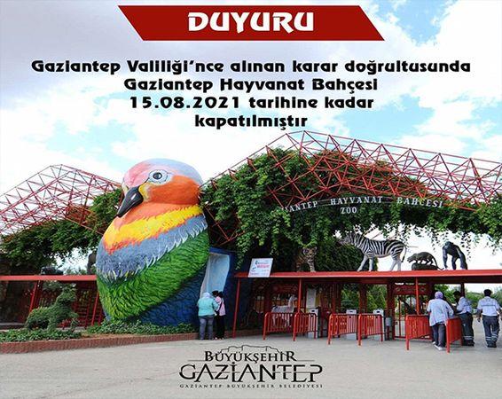 Son Dakika...Türkiye'nin en büyük hayvanat bahçesi ziyarete kapatıldı