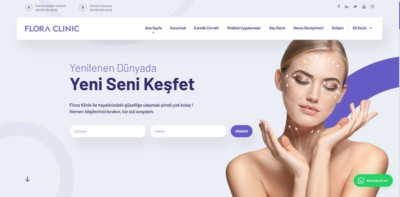 Estetik İstanbul Denince Akla Flora Klinik Gelir