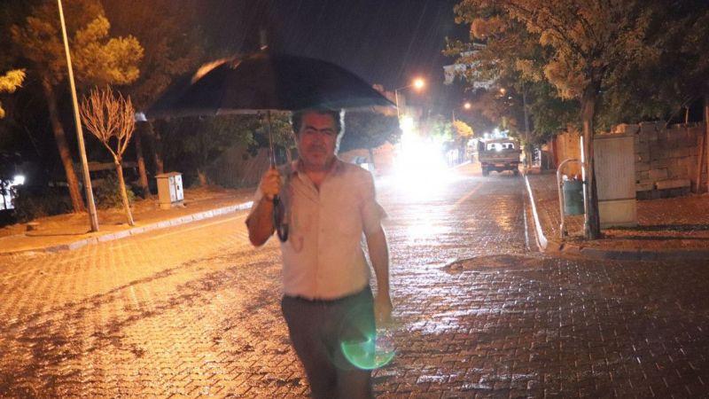 Gaziantep'te etkili olan yağmur havayı serinletti