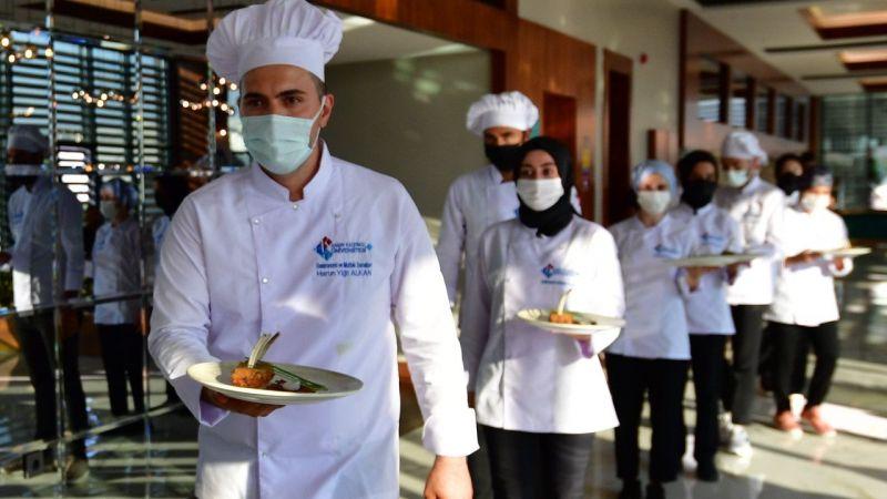 Hasan Kalyoncu Üniversitesi'nde, Gastronomi ve Mutfak Sanatları Bölümü açıldı