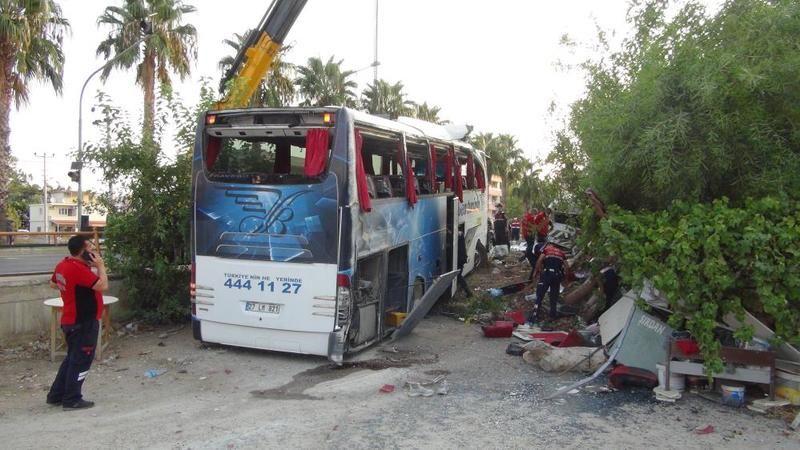Gaziantep'te hangi otobüs firması kaza yaptı? 33 yaralı var