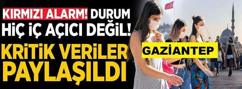 Gaziantep'te Son Durum:  Sağlık Bakanı Fahrettin Koca kritik tabloyu paylaştı! İşte 23 Ağustos 2021