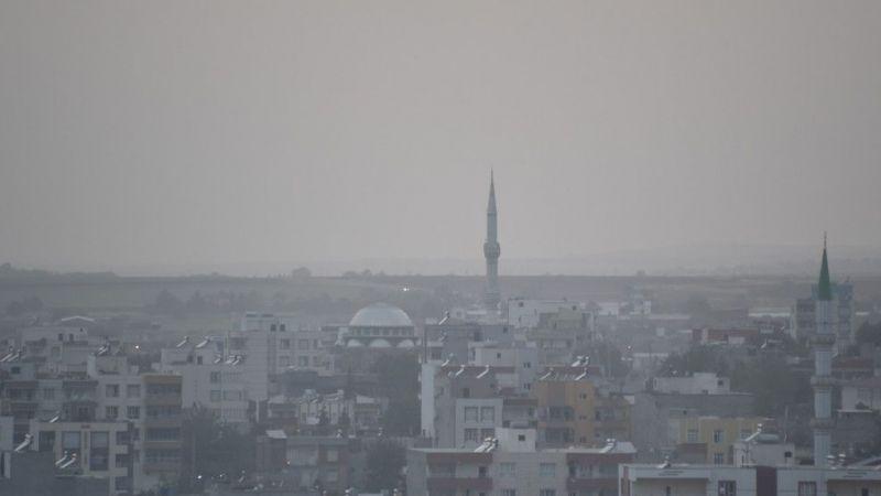 Foto Haber: Şanlıurfa'da toz taşınımı hayatı olumsuz etkiledi