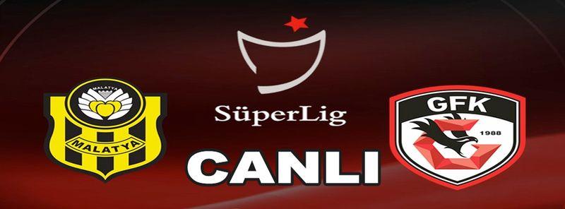 Maç Sonucu...Canlı Maç İzle...İkinci Yarı Başladı! Yeni Malatyaspor 2 - 0 Gaziantep FK ( İlk Yarı Sonucu Yeni Malatyaspor 1 - 0 Gaziantep FK) CANLI İZLE