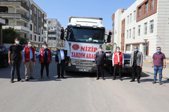 Gaziantep'ten Kastamonu'ya yardım tırı