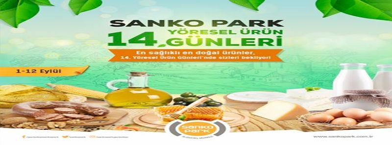 Gaziantep'te Doğal Besinler! Sanko Park yöresel ürün günleri