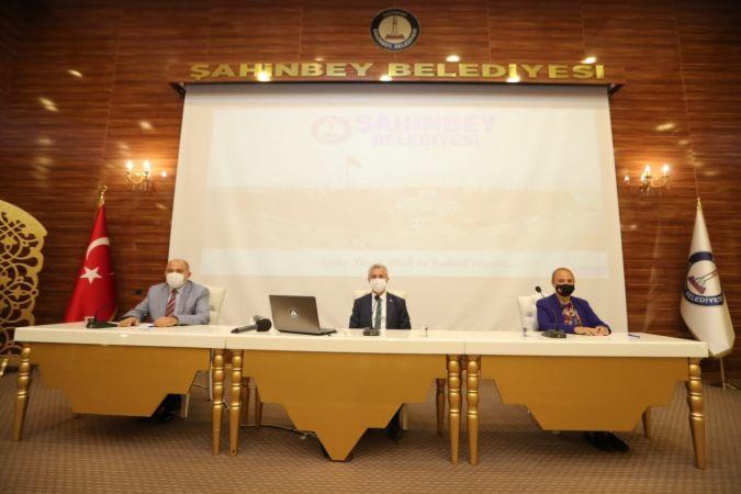 Şahinbey Belediyesi Eylül ayı meclis toplantısı yapıldı