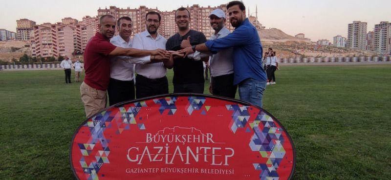 Atletizm Süper Lig heyecanı Gaziantep'te yaşandı