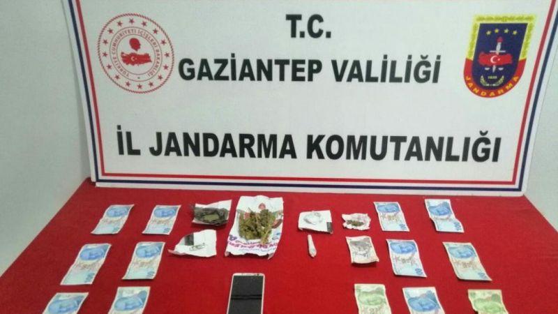 Gaziantep'te uyuşturucu imalatı ve ticareti yaptığı değerlendirilen zanlı tutuklandı