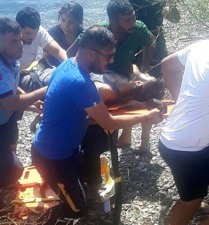Son Dakika...Gaziantep'te Fırat Nehrine giren 5 kişiden biri boğulurken 4 kişi son anda kurtarıldı