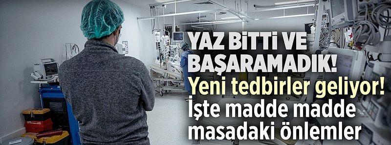 Yaz bitti ve başaramadık: Türkiye'de aşı olmayanlara yeni kısıtlamalar geliyor!