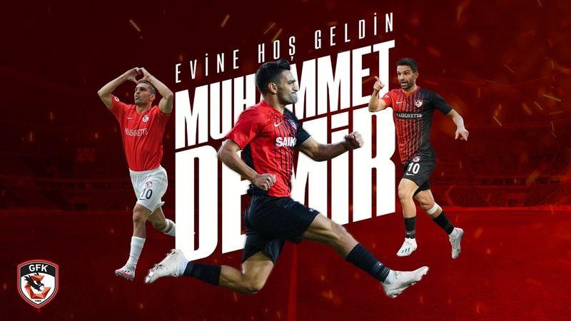 Gaziantep FK'da golcü yuvaya döndü