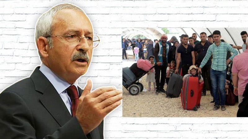 Kılıçdaroğlu, Gaziantep'teki Suriyeli'leri gönderecek