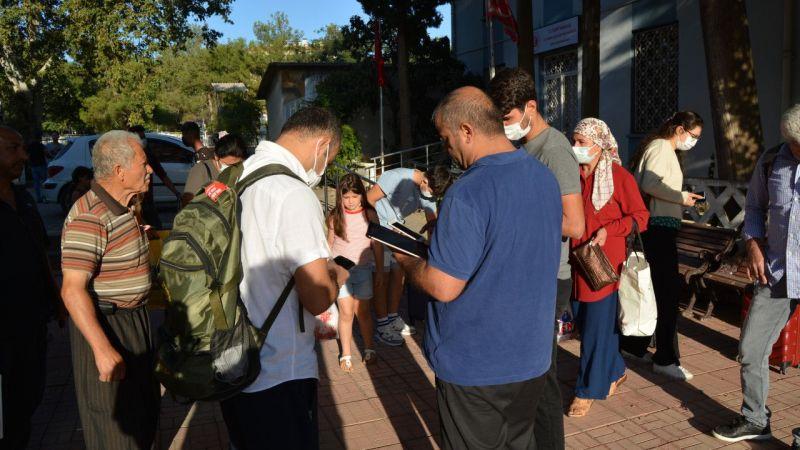 """Gaziantep'te şehirlerarası toplu taşımada """"PCR testi zorunluluğu"""" uygulaması başladı"""