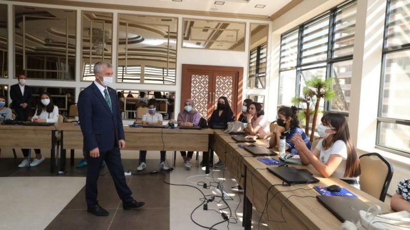Şahinbey'den girişimcilik ve medya akademisi eğitimi