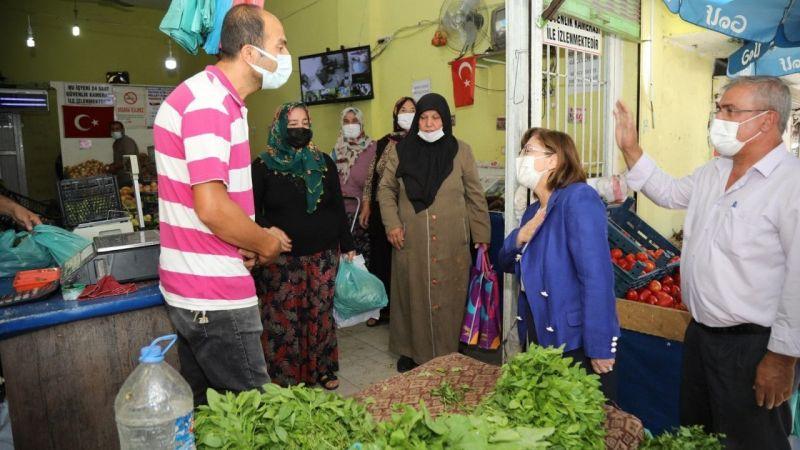 Başkan Şahin'den mahalle ziyareti