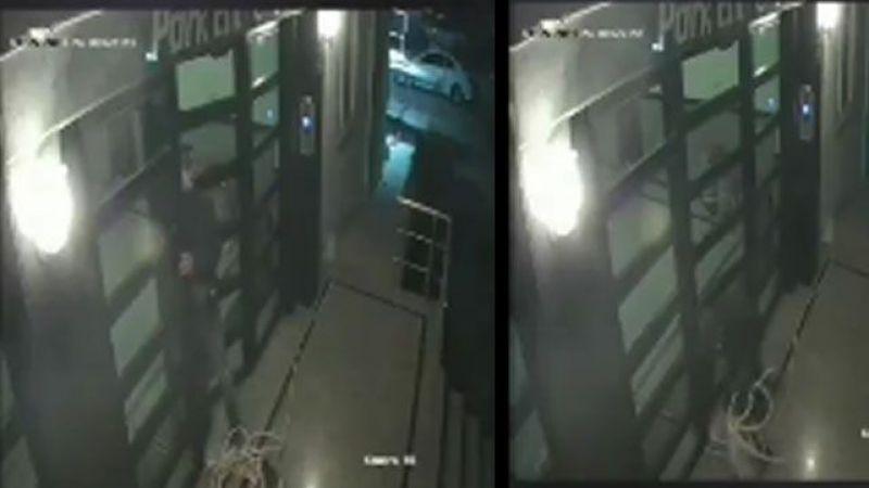 Hırsızlar inşaatın asansör kablolarını çaldılar