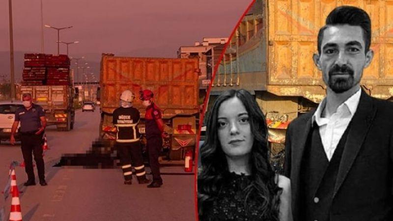 Son Dakika: Acı Haber... 3 saat önce evlenen çift, kazada öldü