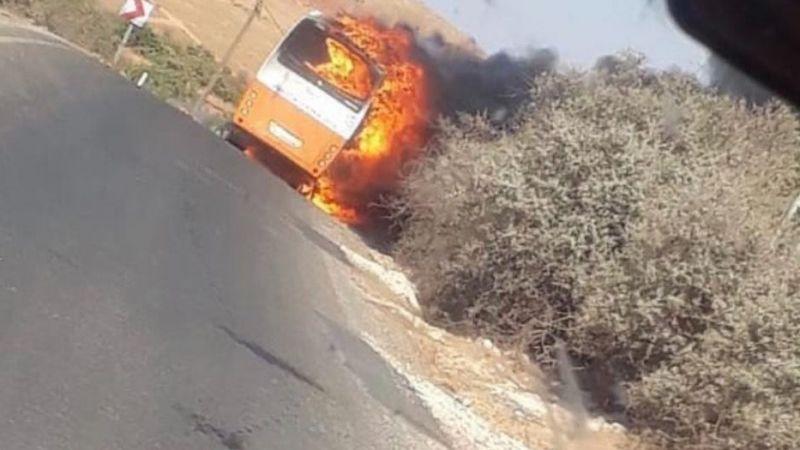 SON DAKİKA! Gaziantep'te halk otobüsü yandı, ölü ve yaralı var mı?