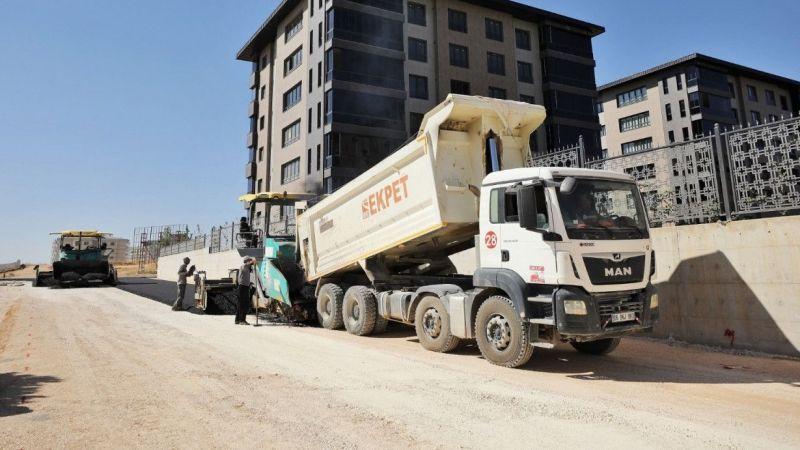Şehitkamil'den asfalt çalışmaları