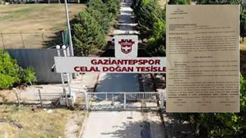 Mahkeme'den flaş Gaziantepspor kararı!