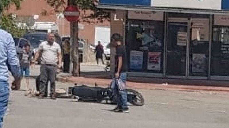 İslahiye'de motosikleti devirdi: 2 yaralı