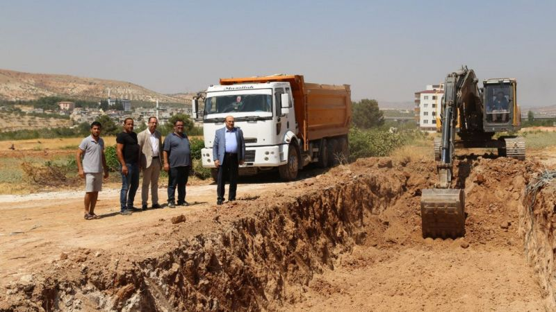 Nizip'te TOKİ inşaatına başlandı