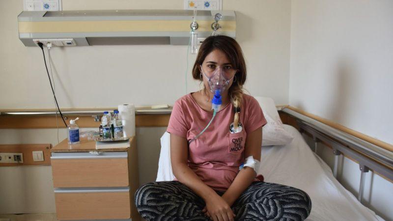 Gaziantep'te kovid-19 aşı sürecini tamamlamayan hemşire pişmanlık yaşıyor