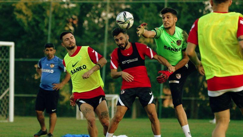 Gaziantep FK'da Sivasspor hazırlıkları