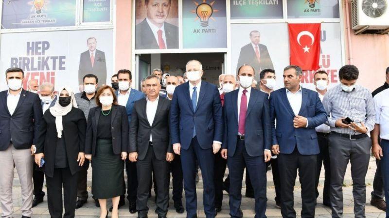 Başkan Şahin ve Milletvekili Koçer'den Araban çıkarması
