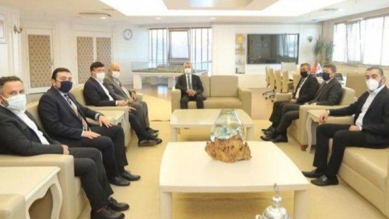Gaziantep FK yönetimi, Tahmazoğlu'nu ziyaret etti