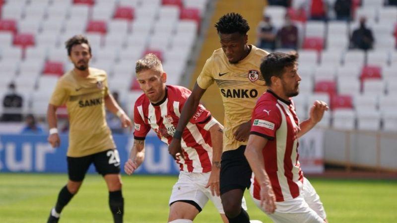 Gaziantep FK, Sivas'tan puanla dönüyor 1-1