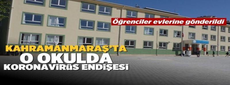 Kahramanmaraş'ta o okulda 3 sınıf karantinaya alındı!