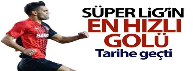 Gaziantep Fk Süper Lig tarihinin en hızlı golünü attı! 10. Saniyede gol geldi…