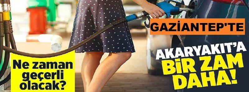 Sıcak Gelişme: Araç sahiplerini üzen haber! Gaziantep'te Akaryakıta zam geldi! Milyonlarca araç sahibini üzen zam açıklaması az önce geldi.