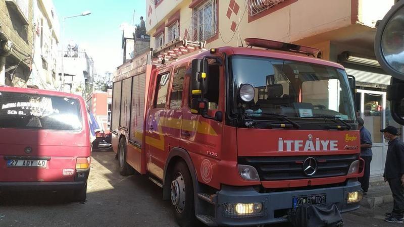 Son Dakika: Gaziantep'te evde çıkan yangın korku ve paniğe neden oldu