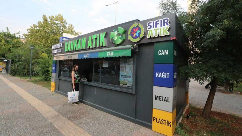 Şahinbey belediyesi bankam atıkla ödüllendiriyor