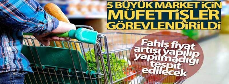 Gaziantep'te 5 Büyük Market Zincirine Market Baskın