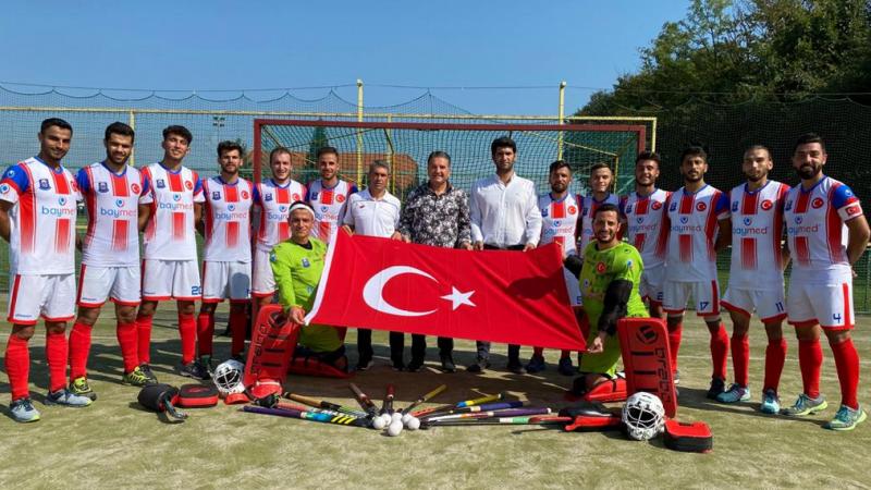 Avrupa Şampiyonu Gaziantep Polisgücü